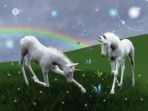 Unicornios Fotos de archivo libres de regalías
