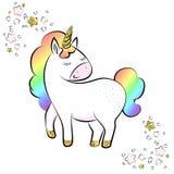 Unicornios de la historieta libre illustration