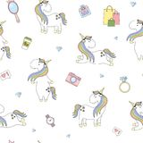 2018 03 unicorno 25_1 Illustrazione Vettoriale