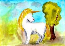 unicorno Immagine Stock