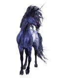 Unicorno blu 3 Fotografia Stock Libera da Diritti