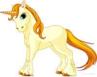 Unicorno diritto Immagine Stock