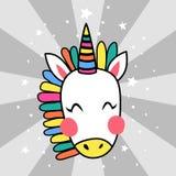 Unicorno giapponese Fotografia Stock Libera da Diritti