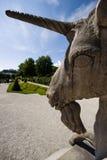 Unicorno nel giardino di Mirabell a Salisburgo immagini stock