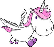 Unicorno Pegasus Immagini Stock