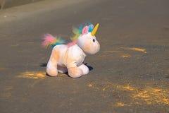 Unicorno variopinto Fotografie Stock