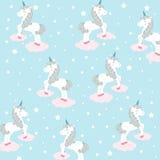 Unicorns -  illustration Royalty Free Stock Images