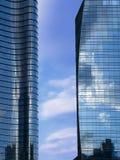 Unicredit塔在Gael Aulenti 免版税库存照片