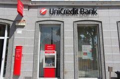 Unicredit银行 库存照片