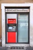 Unicredit Banca di Roma stock images