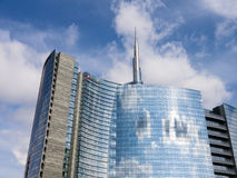 Unicredit Bank skyscraper Stock Photo