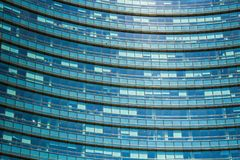 Unicredit bank skyscraper, the tallest skyscraper in Milan. Gae Aulenti square. Milan Porta Garibaldi district. Stock Photography