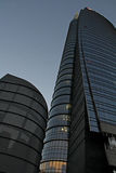 Unicredit tower at evening Stock Photo