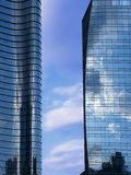 Unicredit Tower in Gae Aulenti. Milan Royalty Free Stock Photo