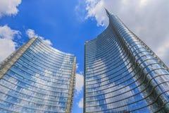 Unicredit Tower, Milan Stock Photo
