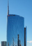 Unicredit Tower in Milan Stock Images