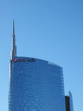 Unicredit Tower in Milan Stock Image