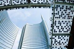 Unicredit Tower, Milan royalty free stock image