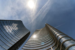 Unicredit Tower, Milan Royalty Free Stock Photography