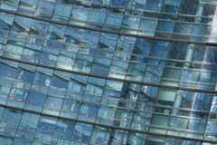 Unicredit Tower in the Porta Nuova district in Milan, Italy. Royalty Free Stock Photos