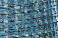 Unicredit Tower in the Porta Nuova district in Milan, Italy. Royalty Free Stock Image