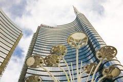 Unicredit-Turm, Mailand, Italien Lizenzfreie Stockfotos
