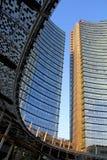 Unicredit-Turm von Quadrat Gael Aulenti Stockfoto