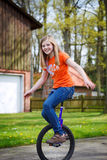 Unicycle Royalty Free Stock Image