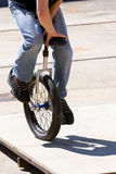 Unicycle Stockbild