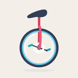 An unicycle Royalty Free Stock Image