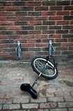 Unicycle parking Obrazy Royalty Free