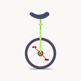 Unicycle vector icon Royalty Free Stock Photo