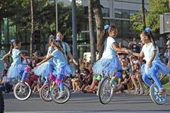Unicycles Stock Photo