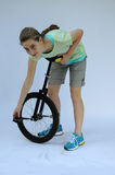 Unicyclist Stock Photos