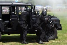 Unidad antiterrorista Foto de archivo libre de regalías