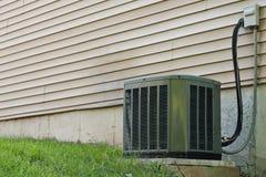 Unidad central residencial del acondicionador de aire Foto de archivo libre de regalías
