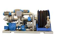 Unidad compacta para los vehículos de reaprovisionamiento de combustible con el combustible Imagenes de archivo