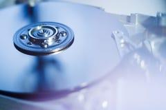 Unidad de disco duro abierta Imágenes de archivo libres de regalías