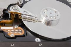 Unidad de disco duro analizada fotos de archivo libres de regalías