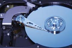 Unidad de disco duro dentro Foto de archivo libre de regalías