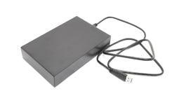 Unidad de disco duro externa para la copia de seguridad Fotos de archivo libres de regalías