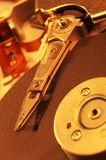 Unidad de discos duros del ordenador Foto de archivo