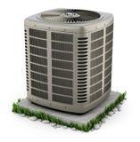 Unidad de la calefacción y del acondicionador de aire stock de ilustración