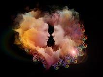 Unidad de la nube Imagenes de archivo
