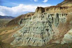 Unidad de la roca de las ovejas, John Day Fossil Beds, Oregon Fotografía de archivo