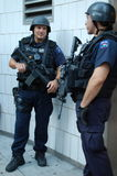 Unidad de servicios de emergencia de la policía de Nueva York Foto de archivo
