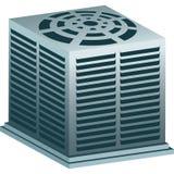 Unidad del acondicionador de aire libre illustration