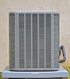 Unidad del compresor del acondicionador de aire Imagenes de archivo