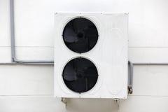 Unidad del condensador de la condición del aire Fotografía de archivo libre de regalías