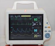 Monitor del ritmo cardíaco Foto de archivo libre de regalías